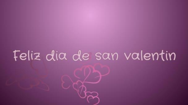 Animation Feliz Dia De San Valentin Happy Valentines Day In Spanish