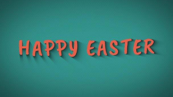animierte hüpfende Buchstaben Frohe Ostern