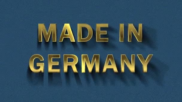 Gold letters collecting from particles- Made in Germany