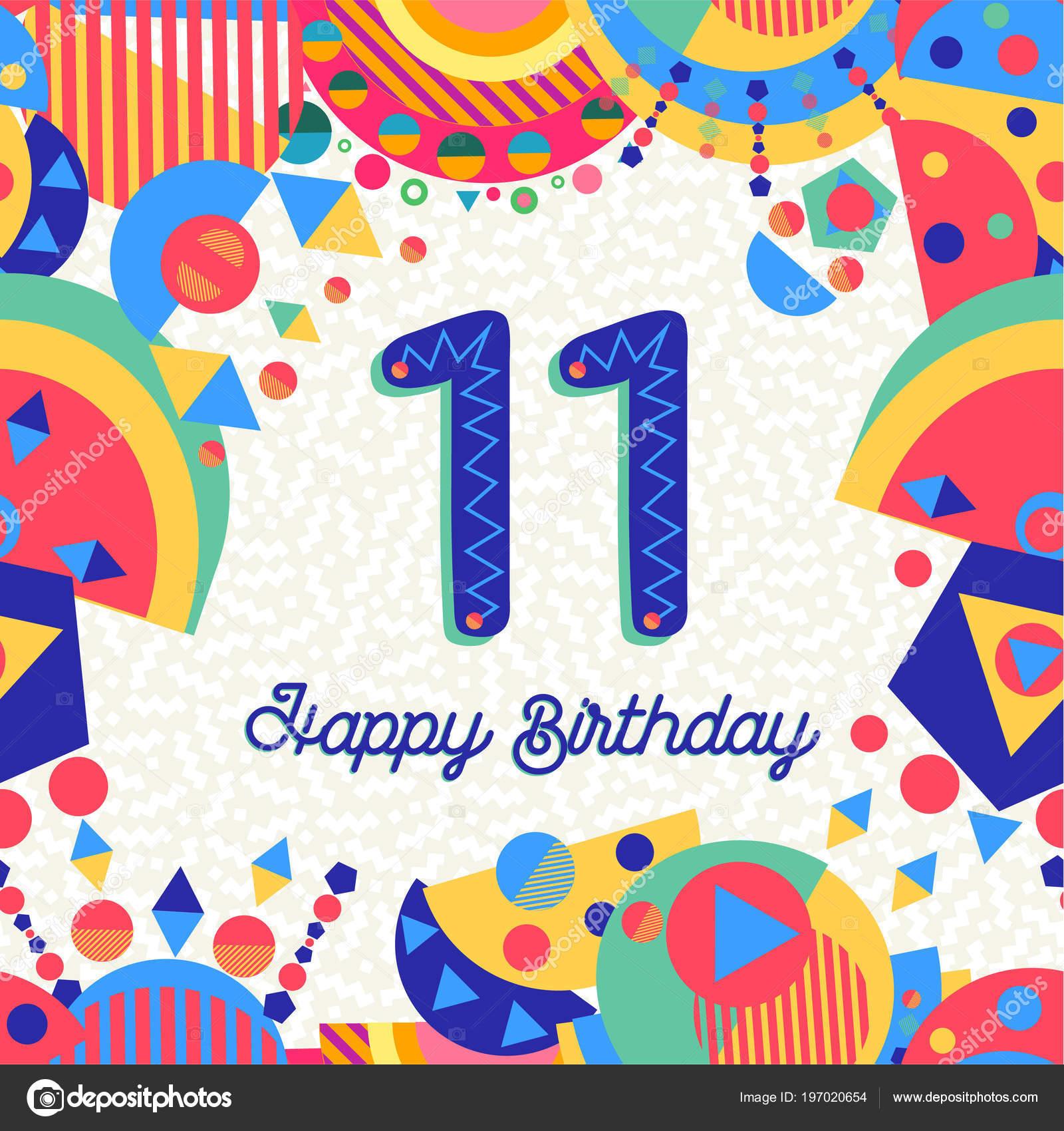 Imágenes Cumpleaños Para 11 Años Diversión Once Años