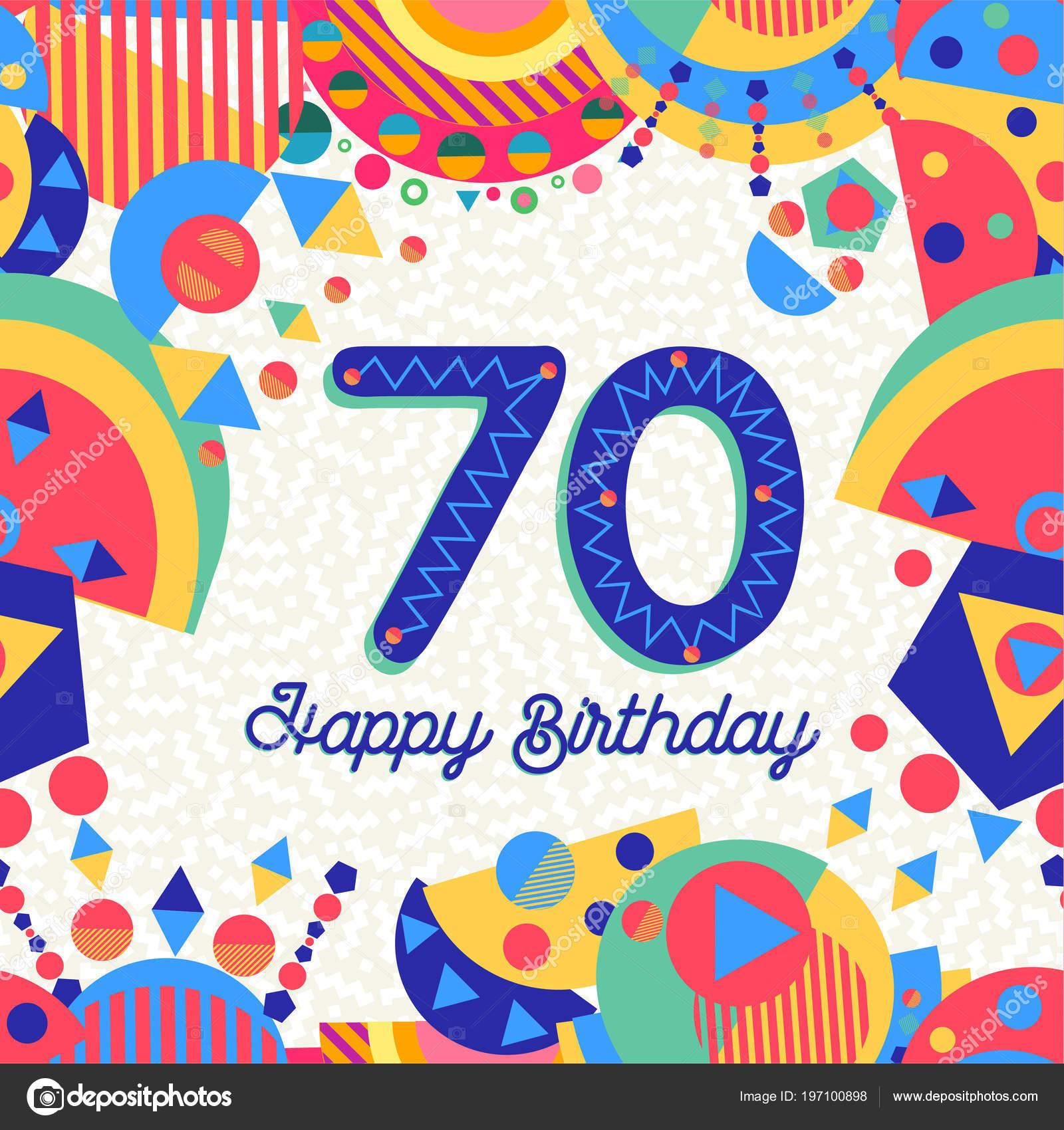 Fondos Para Tarjetas De Cumpleaños 70 Años Diversión