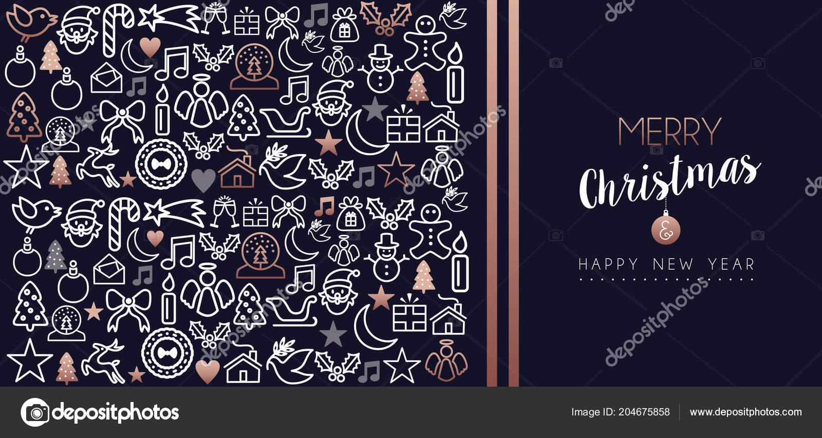 Citaten Kerst En Nieuwjaar : Vrolijke kerstmis gelukkig nieuwjaar wenskaart vakantie overzicht