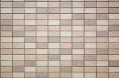 Fotografie quadratische Mosaik Hintergrund der Fliesen Textur in brauner Farbe
