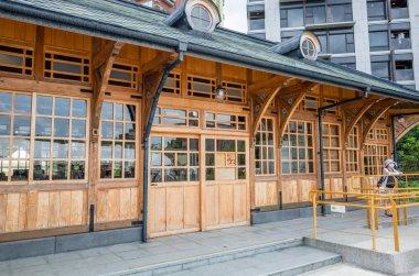old Xinbeitou wooden train station