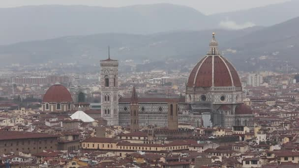 Florence Cathedral Dome Cityscape Tuscany Italy