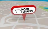 Domů přehodit nákup prodej domy vydělávat příjem mapa připnout 3d obrázek