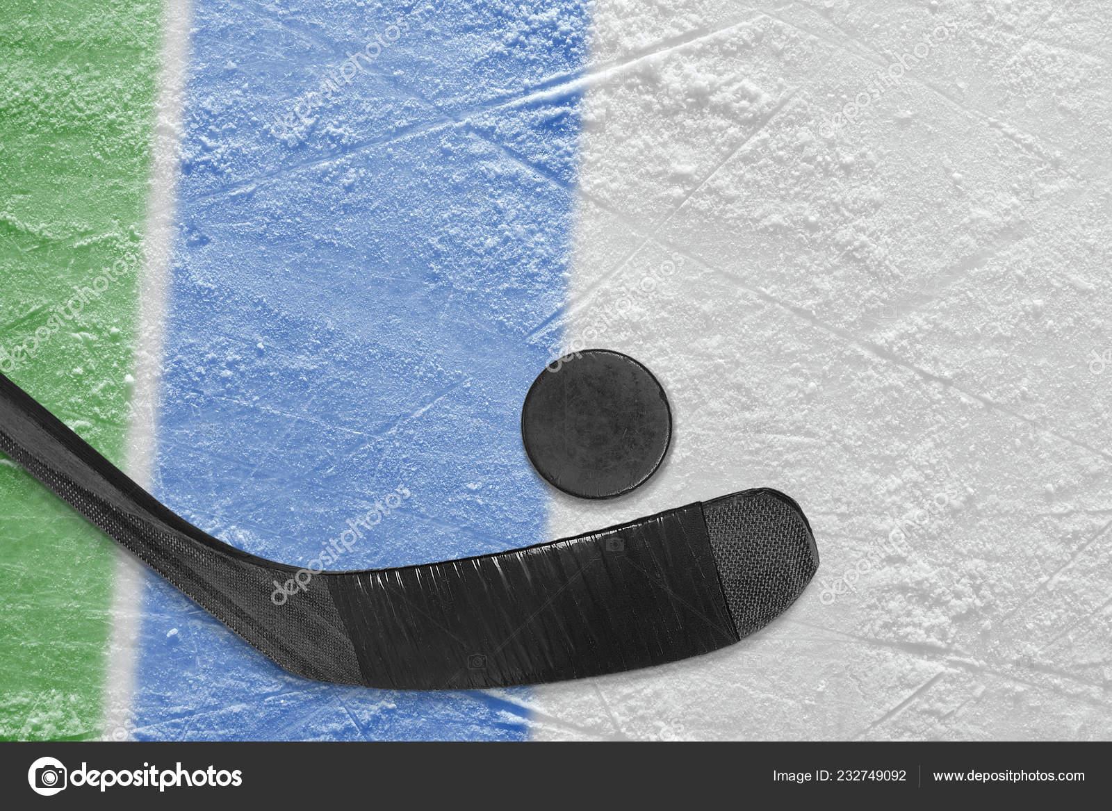 Accesorios Hockey Arena Del Hockey Sobre Hielo Concepto