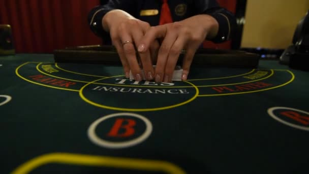 Casino stickman nimmt die Karten