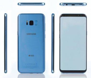 Coral blue Samsung galaxy s8 plus