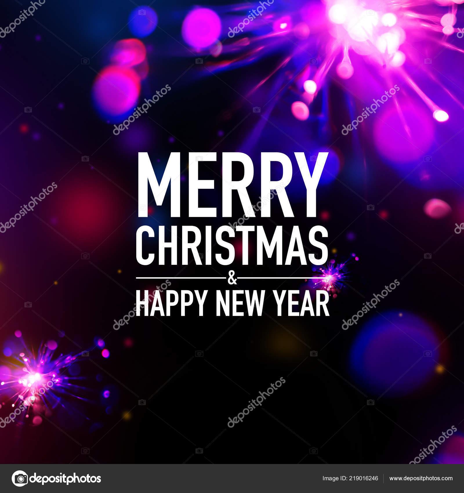 Abstrakte Frohe Weihnachten Und Neujahr Karte — Stockfoto © daboost ...