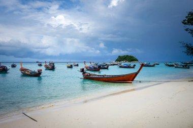 Sunrise beach paradise in Koh Lipe, Thailand