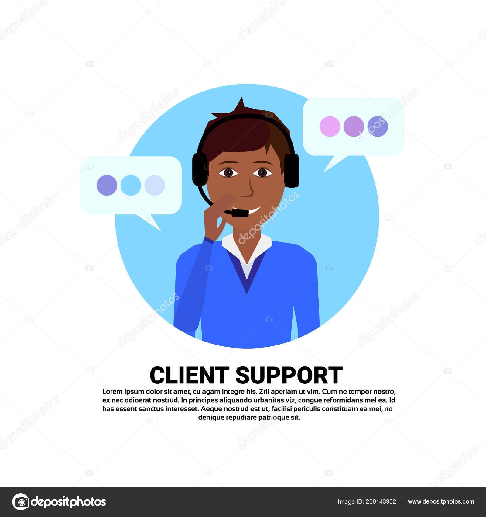 Appelez le centre casque agent femme africaine client support online  opérateur, client et l icône du service technique, le concept de tchat,  copie espace ... b3b632304964