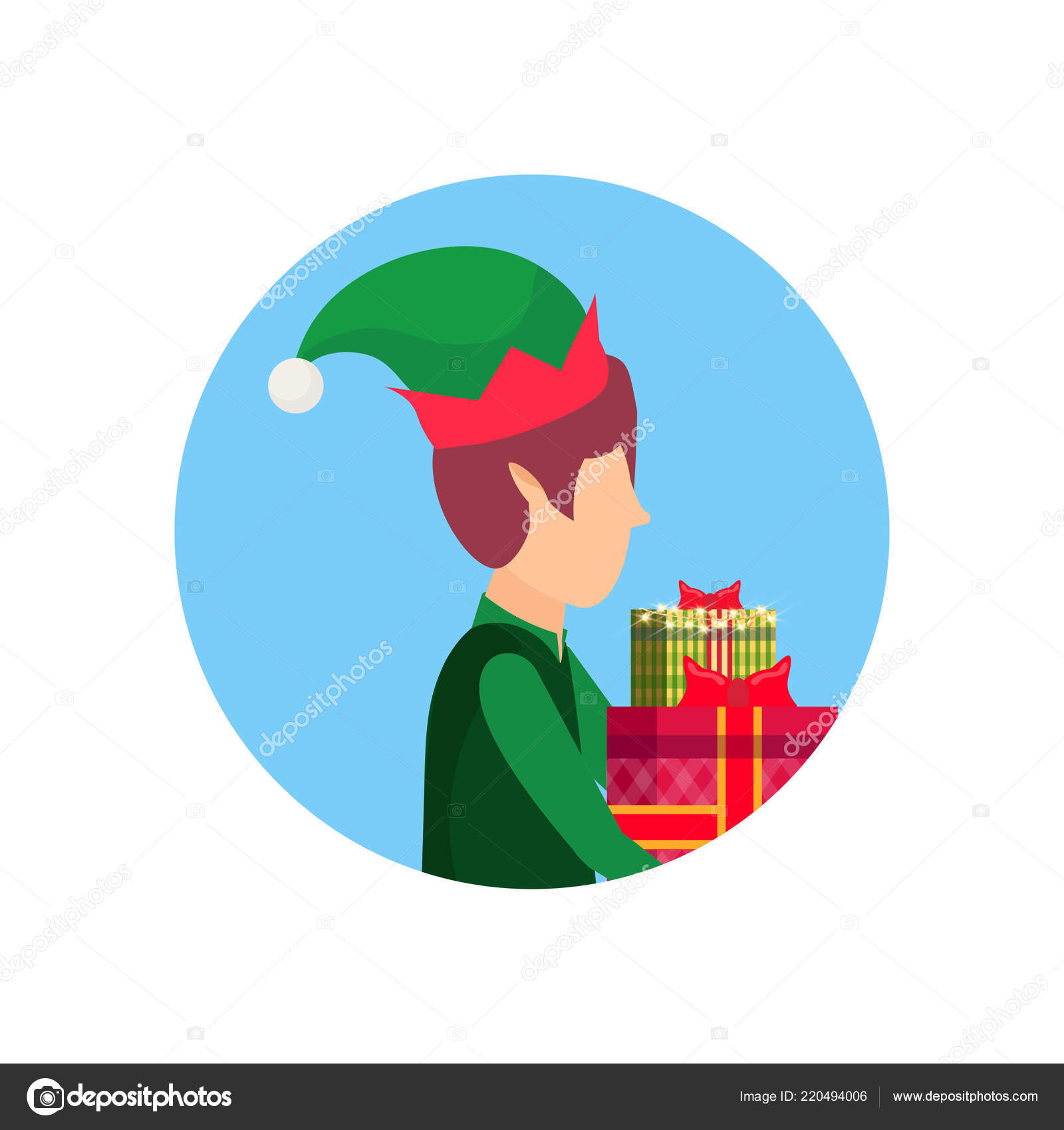 Cartoon Santa sexe