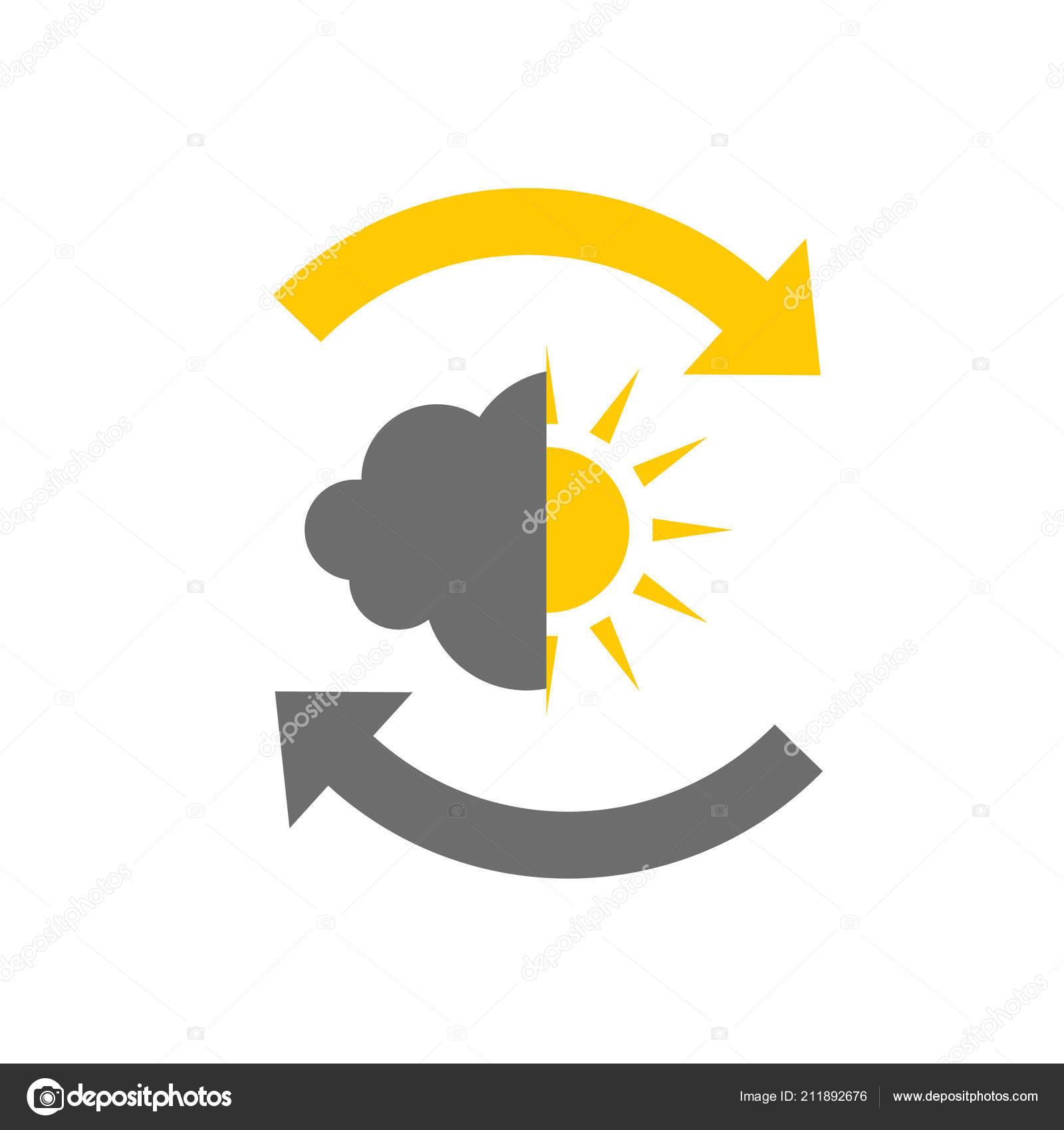 Head Icon For Bipolar Disorder Stock Vector Nataly Nete 211892676