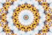 Blur Kaleidoszkóp absztrakt mintás háttérrel, színes fényvisszaverő tükrözés hátteret grafikai elem