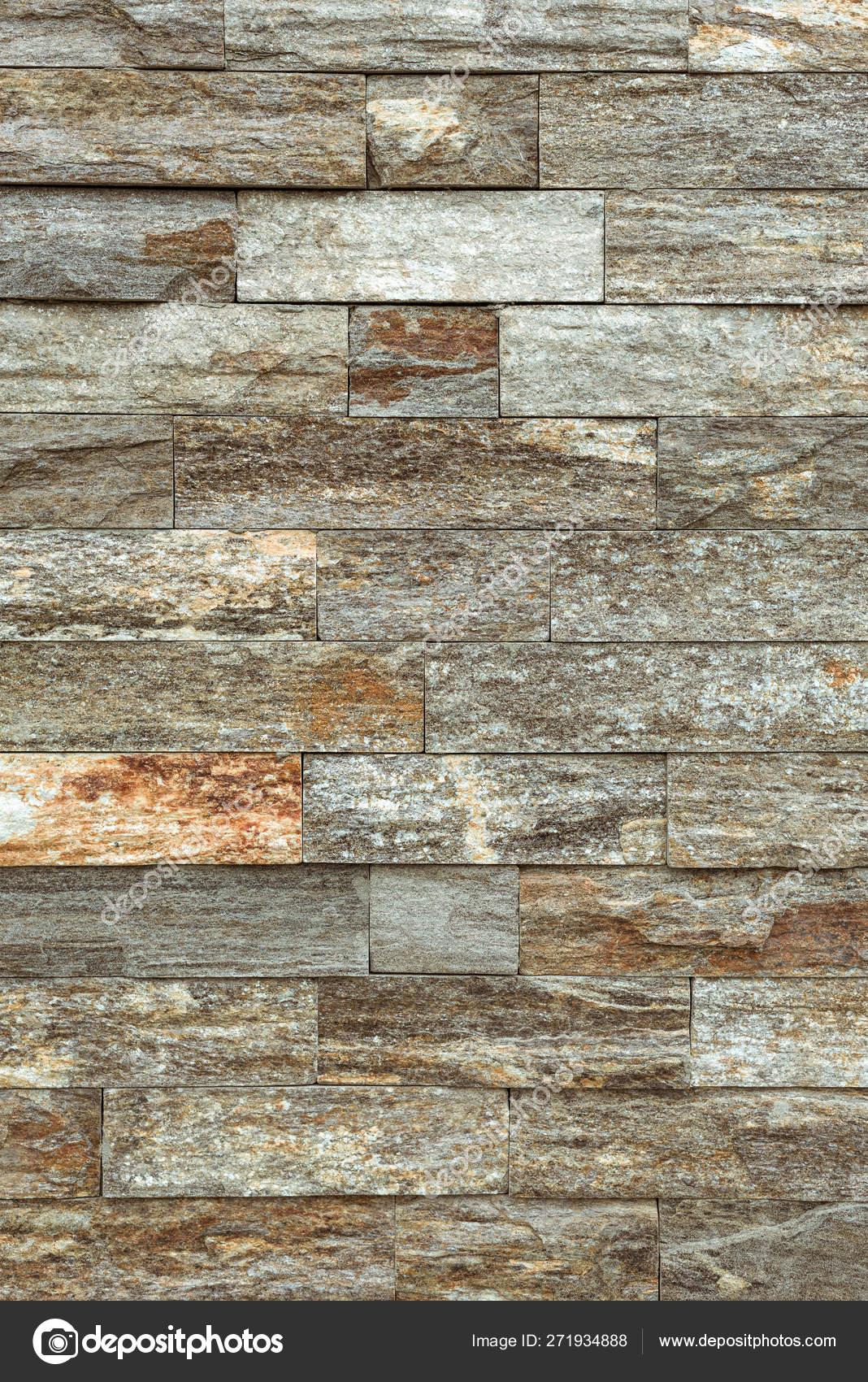 Muro Fatto In Pietra piastrella di mattoni di pietra come sfondo — foto stock