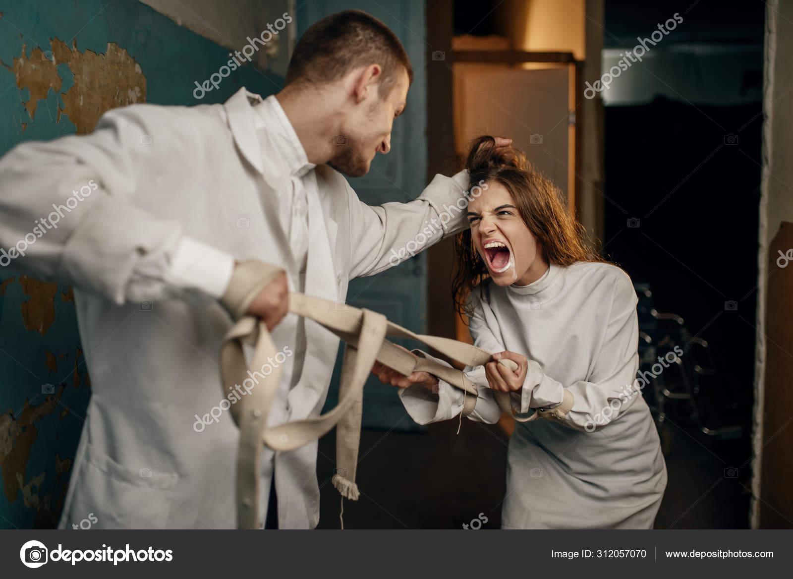 сумасшедшая пациентка картинка женские пончо