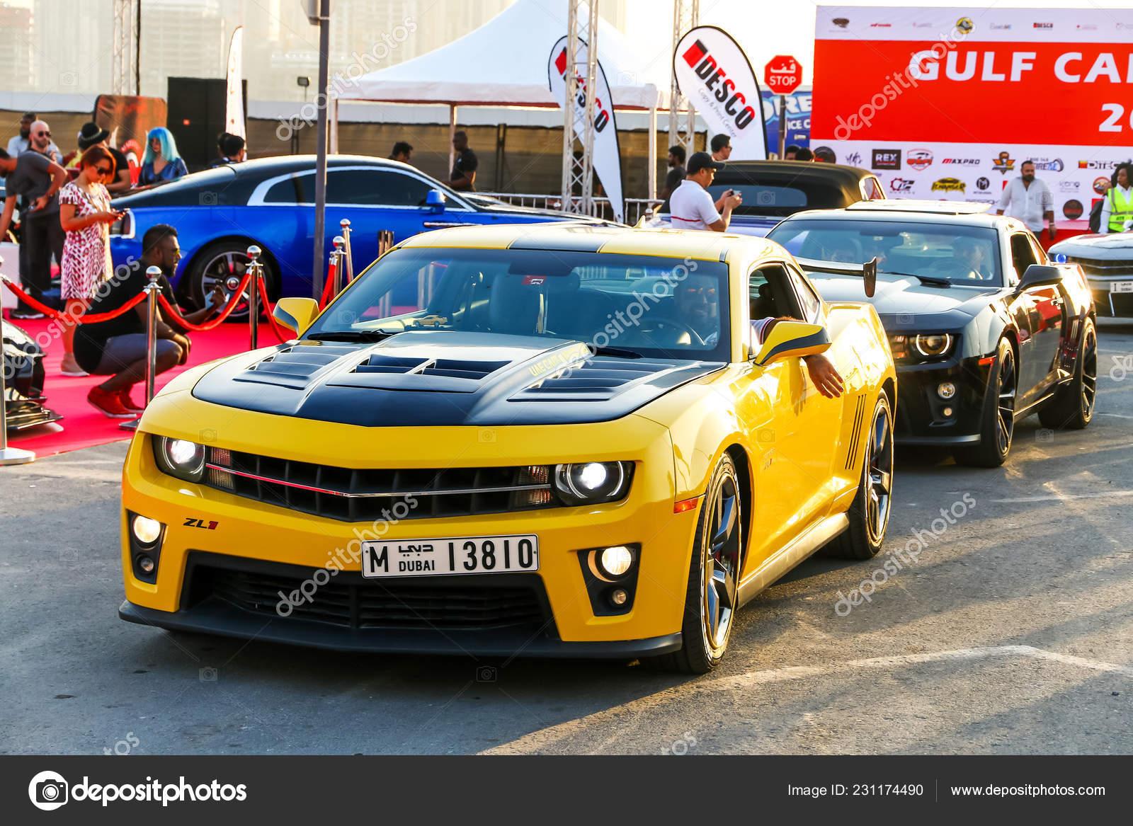 dubai vereinigte arabische emirate november 2018 muscle cars