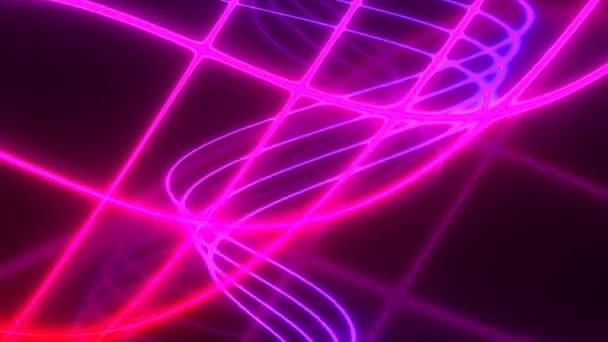 Lines of Bight Pink és lila fény vállalati háttér téma