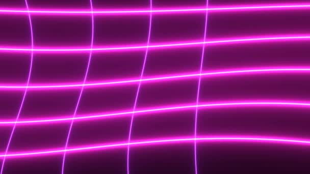 Hot Pink Electricity Lines in a Broad Grid