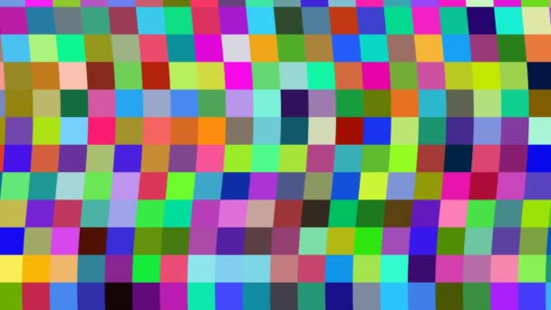 Wiggly 8bit 8-Bit Color Pattern of Old School Digital Palette