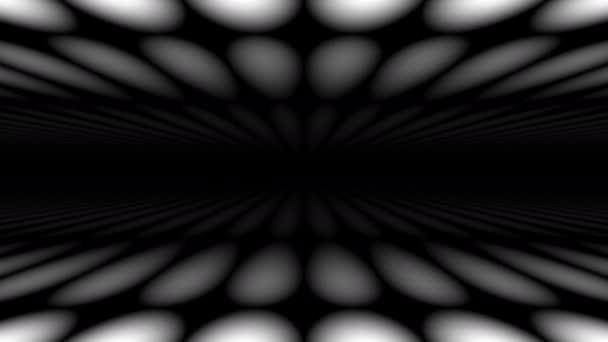 Posun vodorovně mezi dvojicí plochých ploch masky