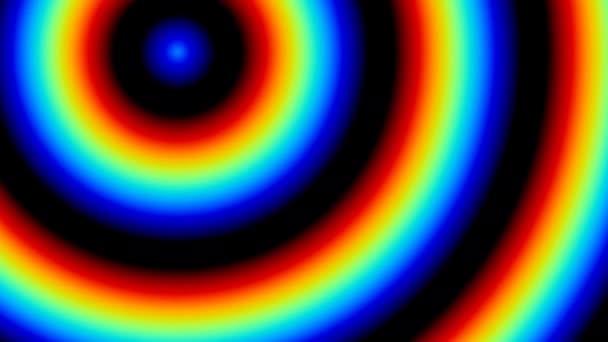 Ugráló Rgb Spectrum Gyűrűk pattogó keretben