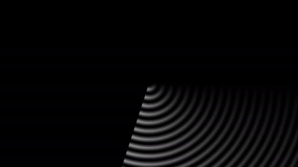 Prohledávání radarové obrazovky Vystavení masky prstenů