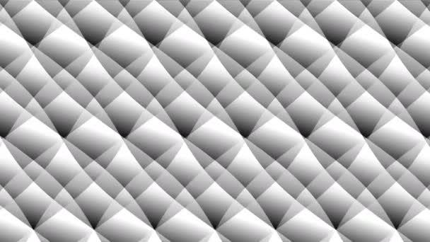 Trojúhelníkové masky překrývající se segmenty matné špičky