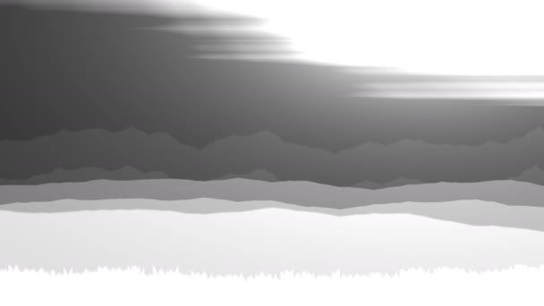 Absztrakt felhő képződési rétegek sík repülés repülés utazás koncepció