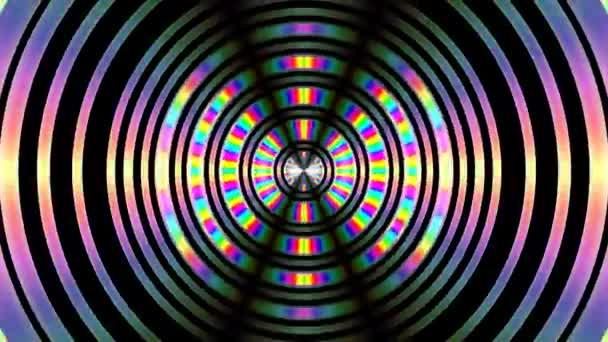 Fotografický objektiv Cmyk Rgba barvy tyčinky v cloně efekt Lensing Circles