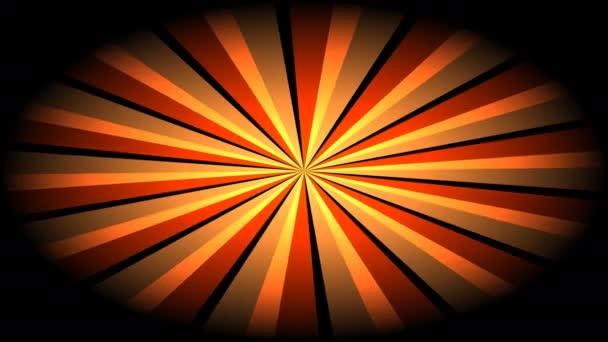 Jasné sluneční paprsky - točící se maskované