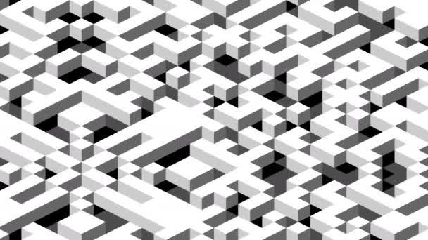 Svět pohyblivých bloků mřížky