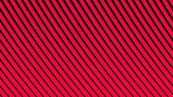 Lines of Red Diagonal Waving Wobbling