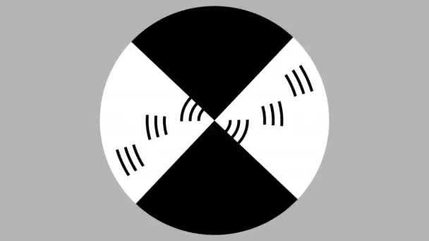 Spinning Persistence of Vision Effect Optikai illúziós maszk