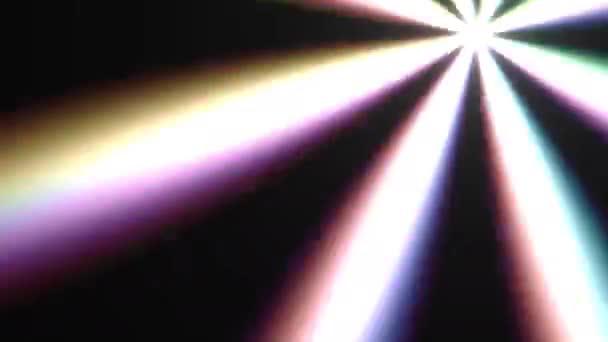 Fényes villogó Spinning Disco Light Party Idő Izgalmas Spotlight