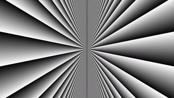 Dvě vrstvy svislých stěn pohybujících se proti sobě