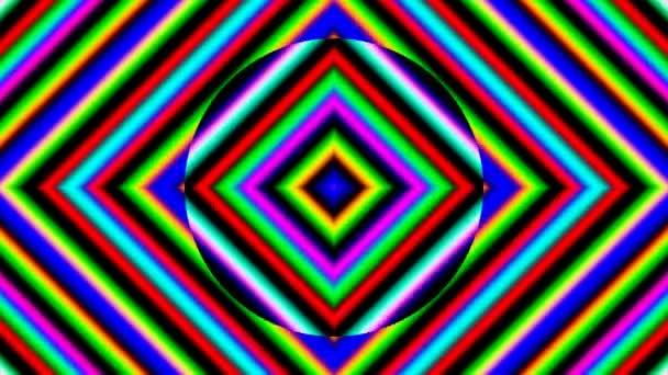 Háttér színek bővülő fénysávok