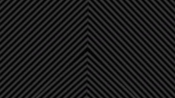Bars of Diagonal Lines treffen sich im Center Spinning Modern Cool Interessant