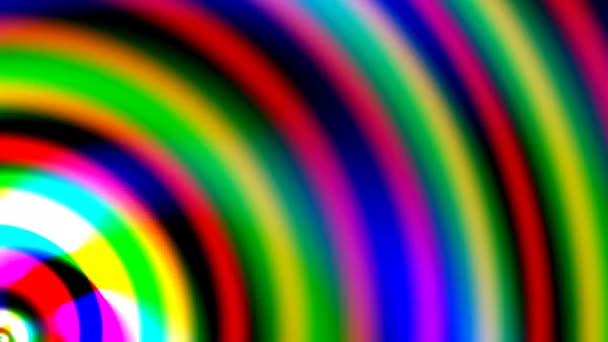 Vrstvy projektovaných světelných tyčí pulzující zajímavý tvar