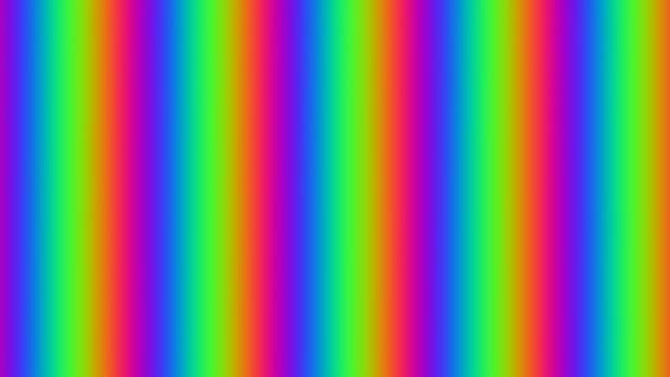 Vodorovně panning červená zelená a modrá Rgb Rgba Vga pruhy barvy pohybující