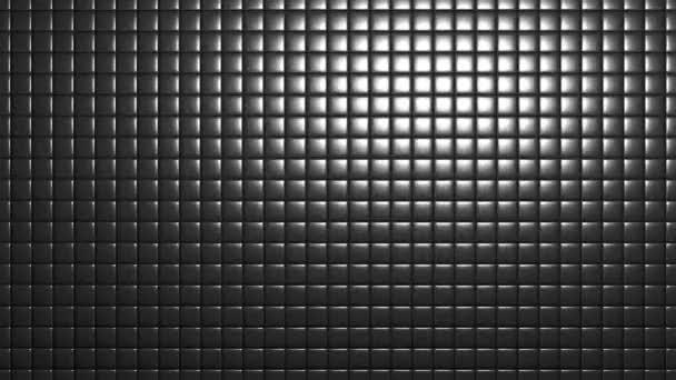 Csempék szilárd műanyag dobozok doboz csempe rács fény reflektorfényben Mozgó