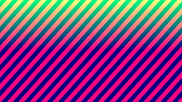 Átlós vonalak piros és zöld mozgó keret háttér