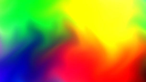 Große Farbtuschsegmente