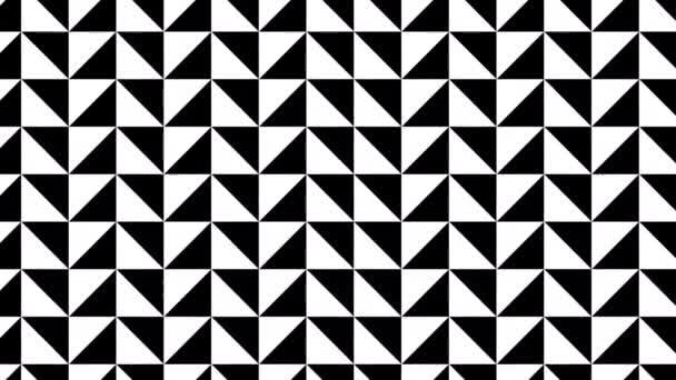 Trojúhelníky Náhodně umístěná mřížka rohů