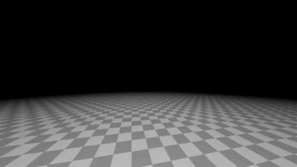 Jednolůžkový obří pokoj zkontrolována podlaha rotující