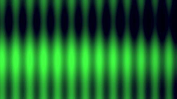 Lichtgrüne Blobs Rows, die zusammenwachsen