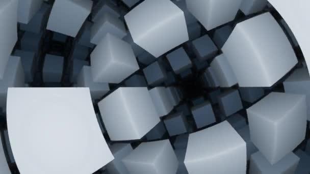Belső tér Végtelen kockák szoba Végtelen sötét rács 3d