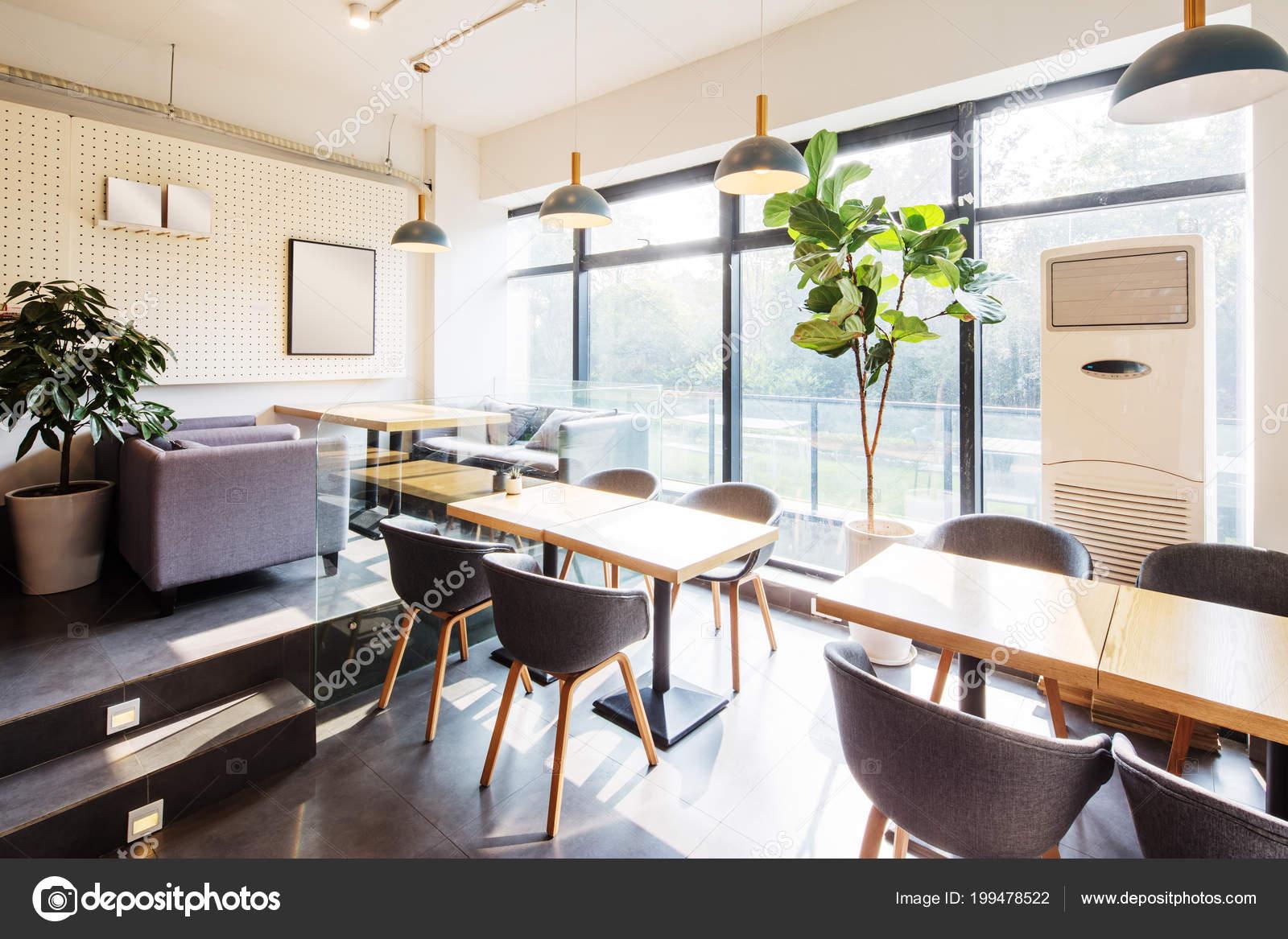 Interior Restaurant Modern Decoration — Stock Photo © zhudifeng ...