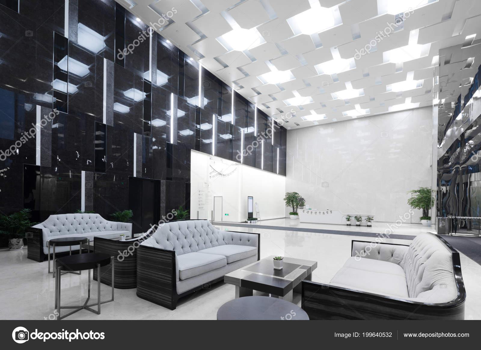 Interior Modern Office Lobby Stock Photo Zhudifeng 199640532